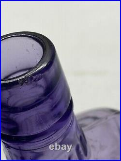 Purple 8 1/4tall HC MYERS COMPANY NEW YORK COVINGTON KY 1 PINT WHISKEY BOTTLE