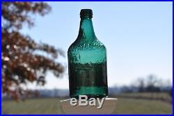 Qt. Oak Orchard Acid Spring Lockport, N. Y. Blue/Green Mineral Water