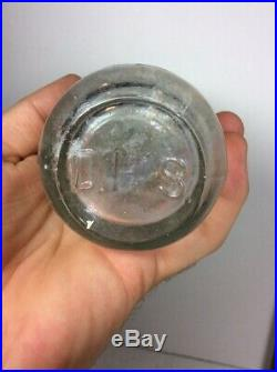 RARE DH SMITH YONKERS NY CODD TYPE PATENT MEDICINE BOTTLE with MARBLE c. 1895-1905