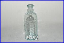 RARE LEWIS & HOLT 160 CHATHAM ST N. Y. Collodion Bottle Rare Address Bottle MINT