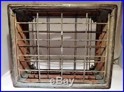 RARE! Yasgur Dairy Farms Bethel NY 1956 pre Woodstock milk crate for half pints