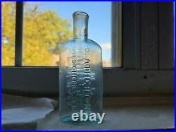 RARE and early Dr. Atherton's Wild Cherry Syrup E. W. Hall Whitehall, NY bottle
