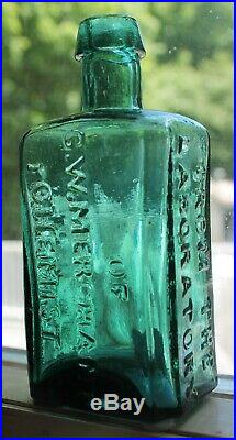 RARE mold variant From the Laboratory of G. W. Merchant Chemist Lockport, N. Y