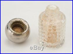 RUBICON 1939 NY World's Fair PERISPHERE TRYLON perfume bottle BAKELITE & CHROME