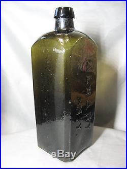 Rare 1840's Pontil Bottle! DR. TOWNSEND'S Sarsaparilla Albany New York
