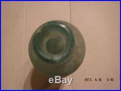 Rare Antique Deep Rock Spring Bottle, Oswego, NY