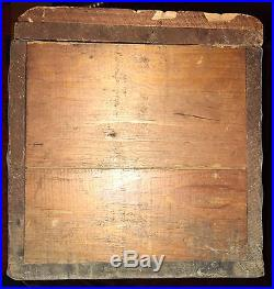 Rare Antique Walker Gordon 513 W 16th St New York NY Wood Porch Milk Bottle Box