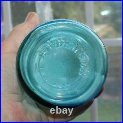 Rare Blue Coca Cola 30 Oz Bottle Rochester, New York, A. L. Anderson Nice