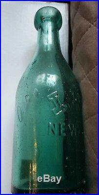 Rare! CIVIL War Confederate N. C. Campsite Found Blob Top Bottle Emb I. Ney Ny