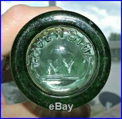 Rare Coca Cola Nov. 16, 1915 Bottle Riverside, N. Y. Porter's R