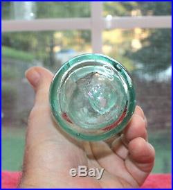 Rare Crystal Spring & Howard Co. Spring Water Bottle New York Nice