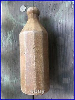 Rare DR CRONKS 1840s Stoneware Bottle Syracuse NY