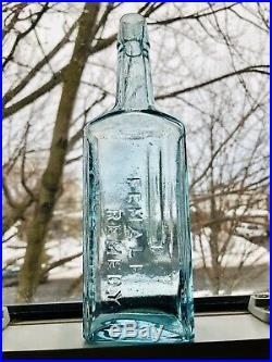 Rare Dr. Kilmers Peened complete Female Remedy Bottle Mint Binghamton, N. Y