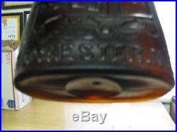 Rare & Excellent Left Hand Hinge Warner's Safe (pictorial) Curerochester, N. Y
