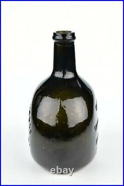 Rare Good Samaritan Brandy Gentyr Slote & Co New York Historical Flask