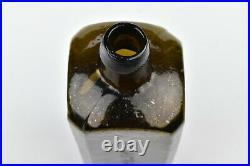Rare Mold Stoddard N H Dr. Townsends Sarsaparilla NY Bottle Wide Corner Panels