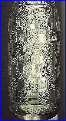 Rare Original Straight Side Try-it 28 Oz Bottle Lackawanna, N. Y. Nice