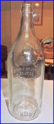 Rare Straight Side Coca Cola 1 Pint 14 Oz Bottle Rochester, N. Y. A L Anderson