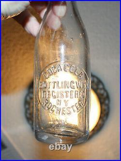 Rare Straight Side Coca Cola Bottle Rochester, New York Nice