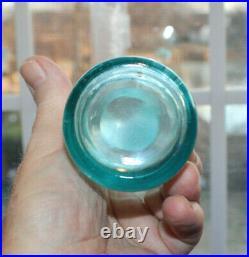 Rare Straight Side Slug Plate Blue Coca Cola Bottle Buffalo, New York Nice