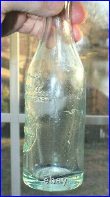 Rare Straight Side Slug Plate Coca Cola Bottle Buffalo, New York Nice