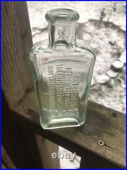 Rare Vet Bottle Green Save The Horse Treatment For Lameness Troy Binghamton NY