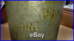 Rare Vintage Crowley's Binghamton, NY 67 milk can