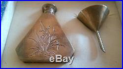 Rare antique Chinese China solid silver snuff bottle ship from New York