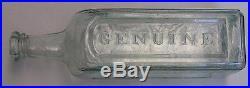 Sands Sarsaparilla New York Open Pontil Bottle Huge Medicine Cure