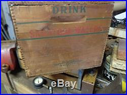 Saratoga Springs New York NY mineral water bottle shipping crate bridgeport CT