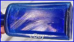 Scarce Cobalt J. H. SACKETTs MAGIC COLORIS Hair Bottle New York BIM Near Mint