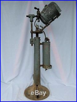 Seltzer Bottle Filling Stand or Machine Made by Consolidated Syphon Supply NY