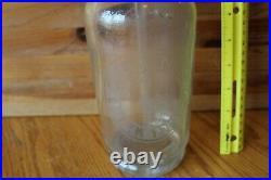 Seltzer Bottle Vintage Glass B. Goldenberg New York Judel Luft NY 48 Antique