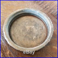 Spratts Patent July 18 1854 Wells Provost Proprietors NY Lugged Lid Cap Lead