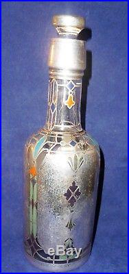 Sterling Inlay Antique Trophy Bottle New York Athletic Club