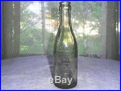 Straight Sided Coca Cola Bottle Script Shield Slug Goshen New York