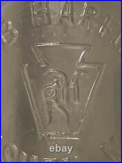 Straight Sided Coca-cola Soda Bottle E B Harford, Goshen, Ny In Slug Plate Rare
