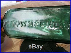 Stunning Bright Tealdr Townsend's Sarsaparillaalbany, N. Y