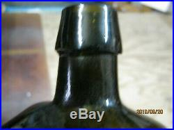 Stunning Pontiled Olive Green Blackdr Townsend's Sarsaparillaalbany, N. Y