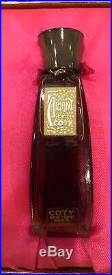 Super RARE PARFUM by COTY New York Paris 0.25 oz Full Bottle in Box