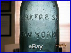 Superb Sapphire Bluej. C. Parker & Son Blob Lip Sodanew York