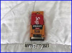 Supreme New York Stanley Adventure Ss Flask 8 Oz. Ss 17 Brand New