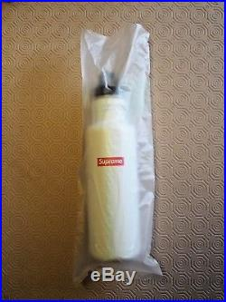 Supreme New York White Klean Kanteen Classic Water Bottle 16SS New Unused