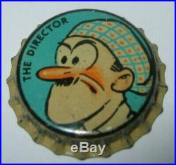 The Director Goldenrod Comicaps Beer Bottle Cap 1935 Brooklyn, Ny Unused Cork