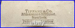 Tiffany & Co New York Sterling Silver Refillable Perfume Bottle With Dabber