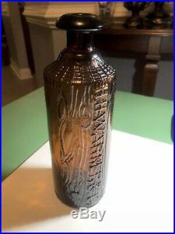 Tippecanoe H. H Warner & Co Glass Bitters Bottle Rochester, NY 19th century