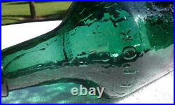 Tumbled 1860's G. W. Merchant Oak Orchard, Lockport, N. Y. Antique Bottle! Wow