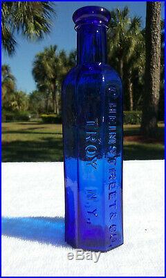 Tumbled 1880's C. Heimstreet & Co, Troy, Ny Antique Medicine Bottle