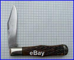 Ulster Knife Co Ny Coke Bottle Knife Double Pull