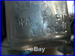 Ultra Rare The Dairy Kitchen, C. B. Smith 1/2 Pint Milk Bottle. Middletown Ny